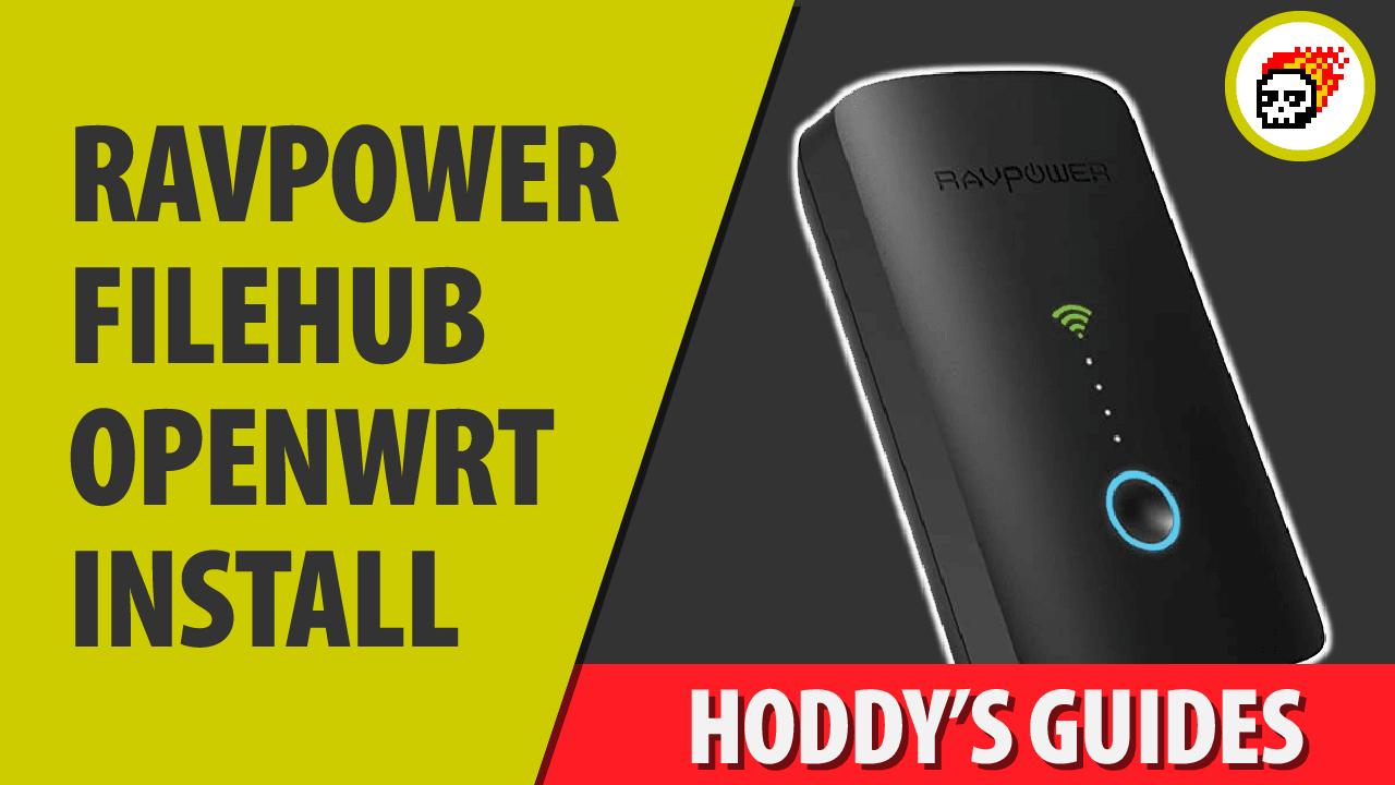 OpenWRT Ravpower router